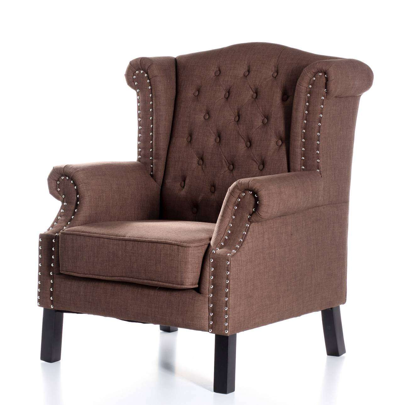 Fauteuil Winchester Brown