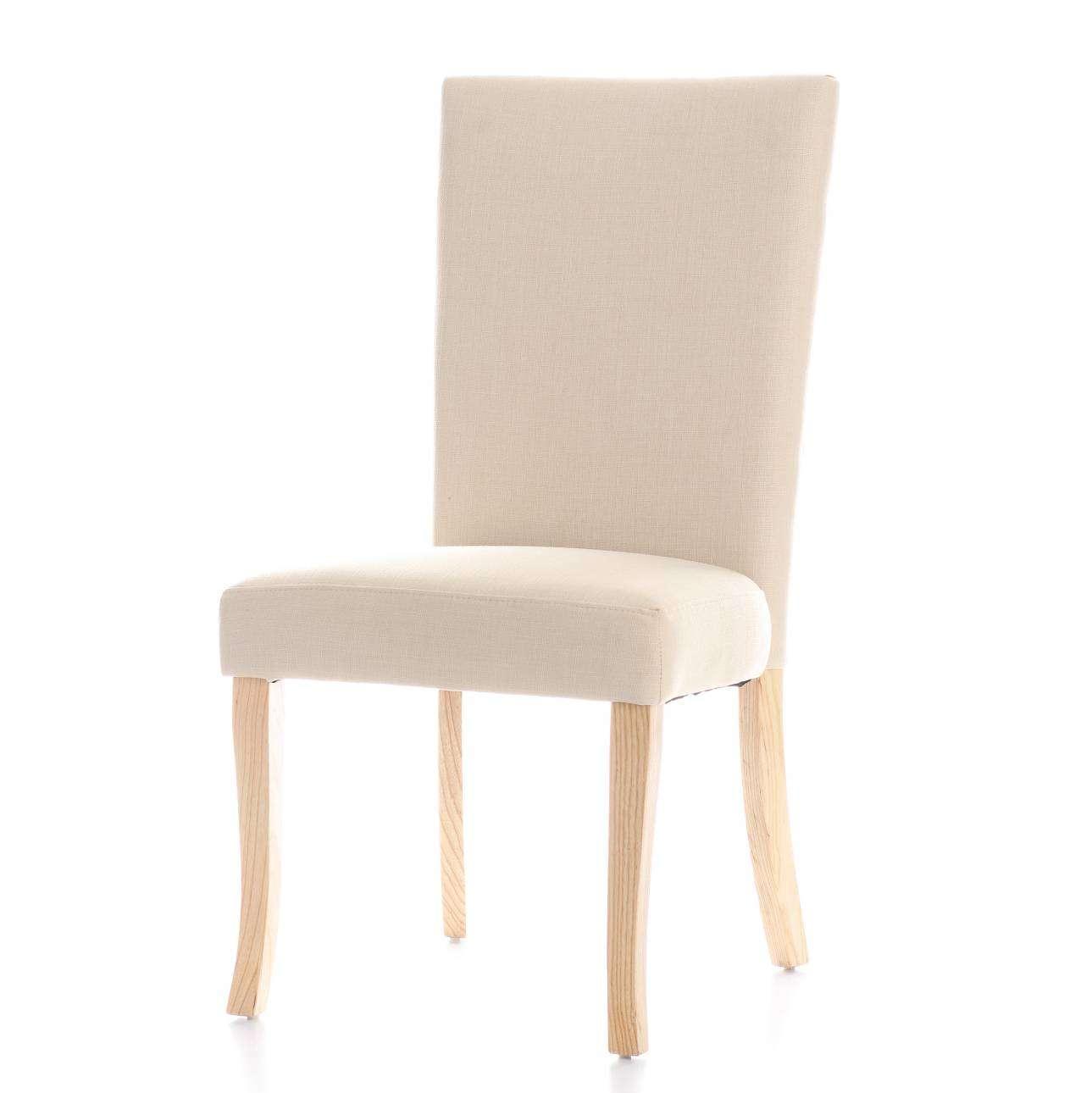 Polsterstuhl Andrea Cream, 50 × 51 × 102 cm | Küche und Esszimmer > Stühle und Hocker > Polsterstühle | Dekoria