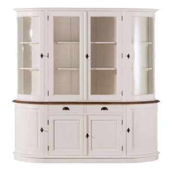 Buffetschrank Brighton 212x52x213cm White&natural