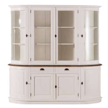 Kredens Brighton 212x52x213cm White&natural