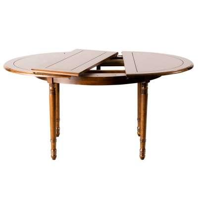 Tisch ausklappbar 120x76cm/ 160x120x76cm