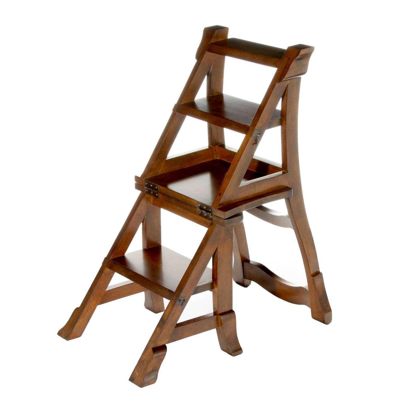 Stuhl Leiter Kombi 44x48x85cm 44 × 48 × 85 Cm Dekoria