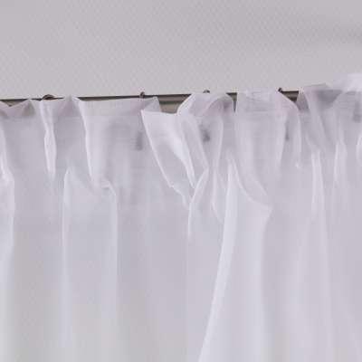 Krátka záclona Lily, na navliekacej riasiacej páske, metráž V kolekcii Voálové záclony, tkanina: 900-00