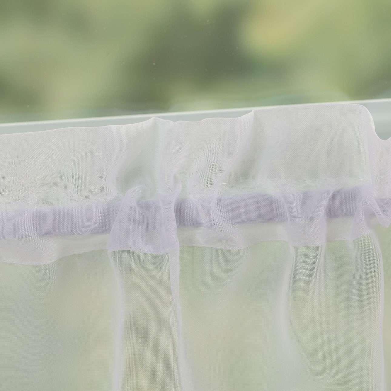 Lily kraftig voile hvit i metermål 40cm fra kolleksjonen Voile, Stoffets bredde: 900-00