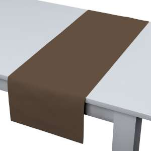 Rechteckiger Tischläufer 40 x 130 cm von der Kollektion Cotton Panama, Stoff: 702-02