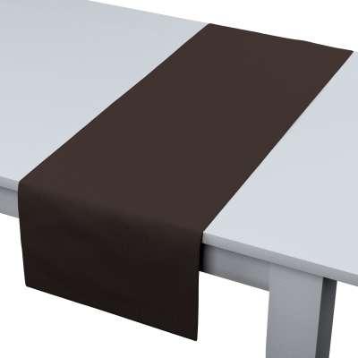 Rechteckiger Tischläufer 702-03 Kaffee Kollektion Cotton Panama