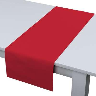 Asztali futó 702-04 skarlát vörös Méteráru Cotton Panama Bútorszövet
