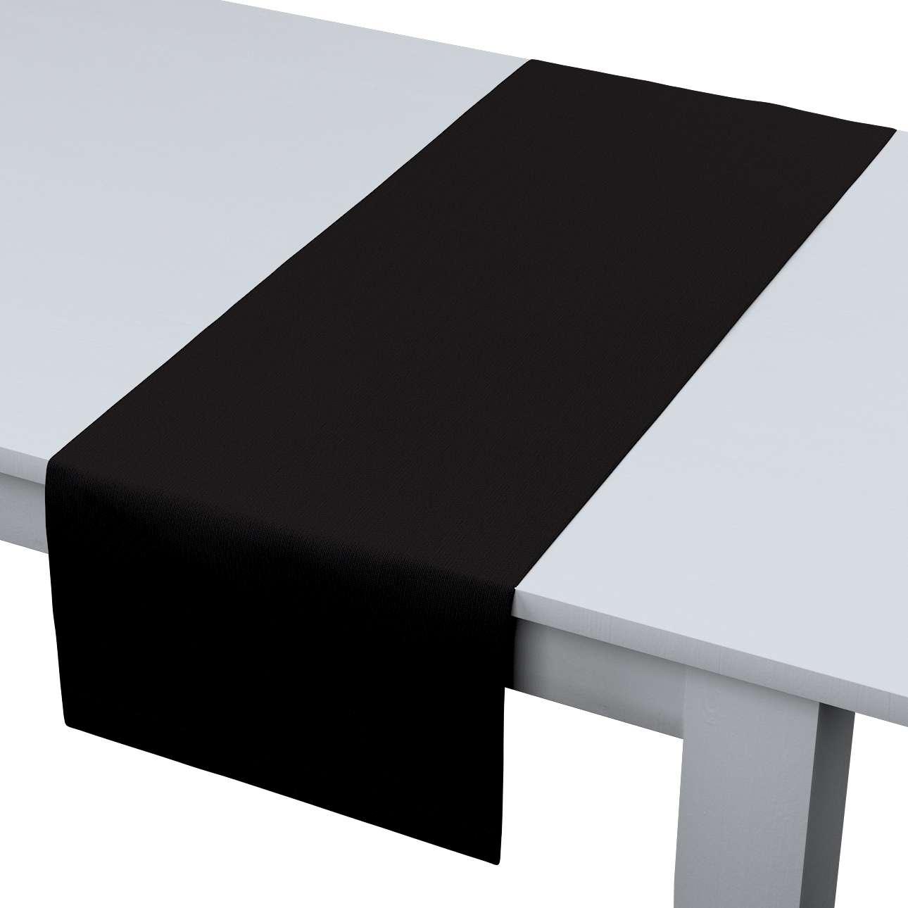 Rechteckiger Tischläufer 40 x 130 cm von der Kollektion Cotton Panama, Stoff: 702-09