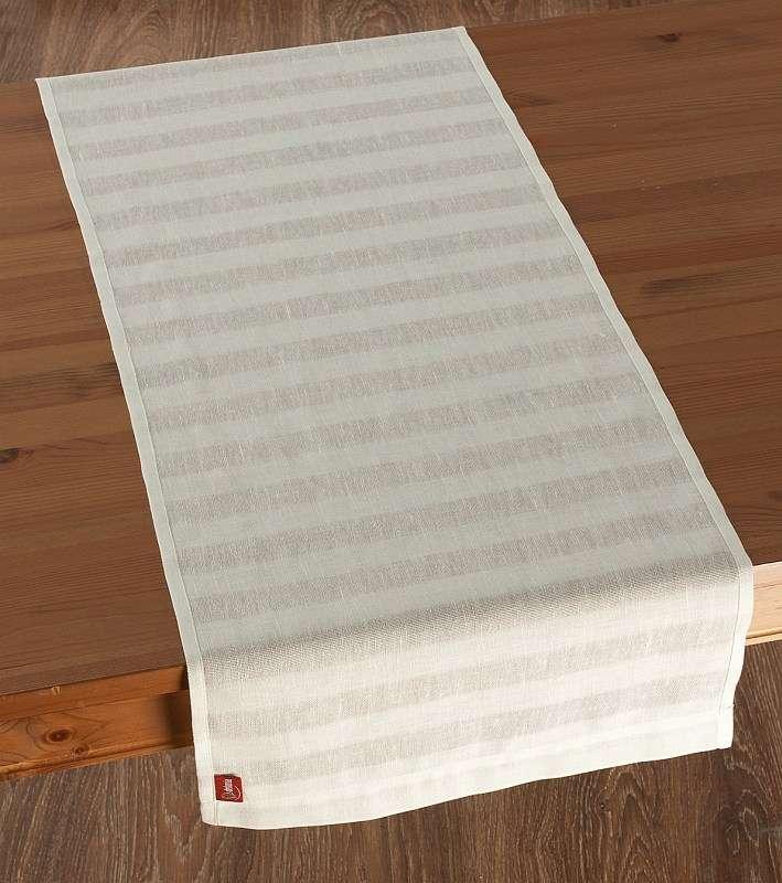 Rechteckiger Tischläufer 40 x 130 cm von der Kollektion Leinen, Stoff: 392-03