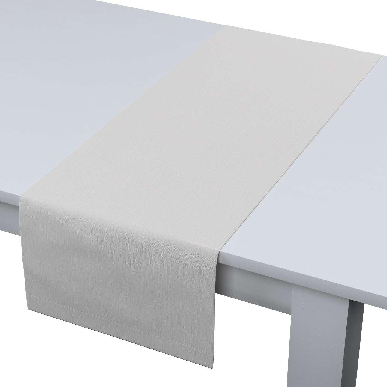 Rechteckiger Tischläufer 40 x 130 cm von der Kollektion Leinen, Stoff: 392-04
