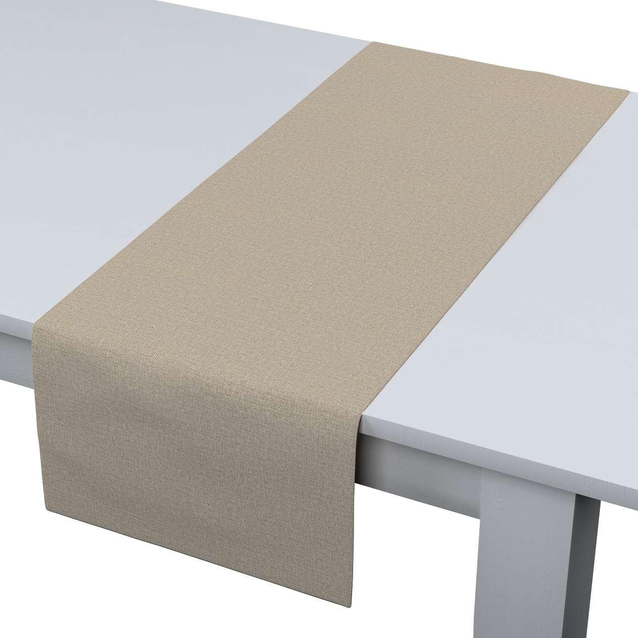 Rechteckiger Tischläufer, beige, 40 × 130 cm, Edinburgh  | Heimtextilien > Tischdecken und Co | Dekoria