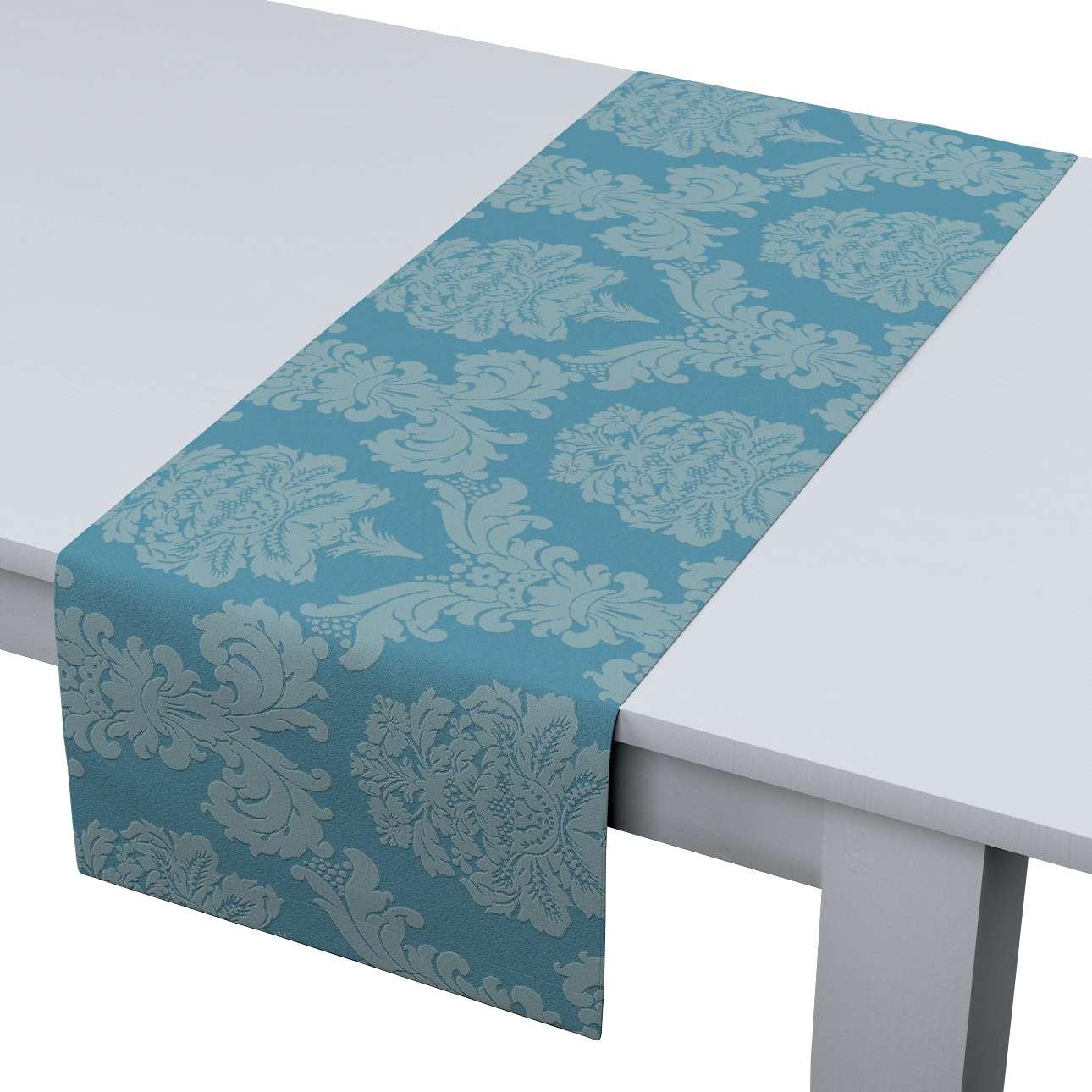 Rechteckiger Tischläufer 40 x 130 cm von der Kollektion Damasco, Stoff: 613-67