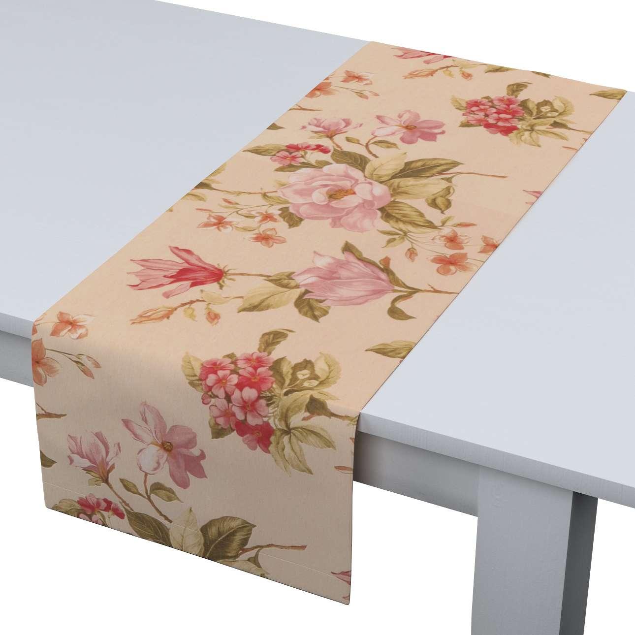 Rechteckiger Tischläufer 40 x 130 cm von der Kollektion Londres, Stoff: 123-05