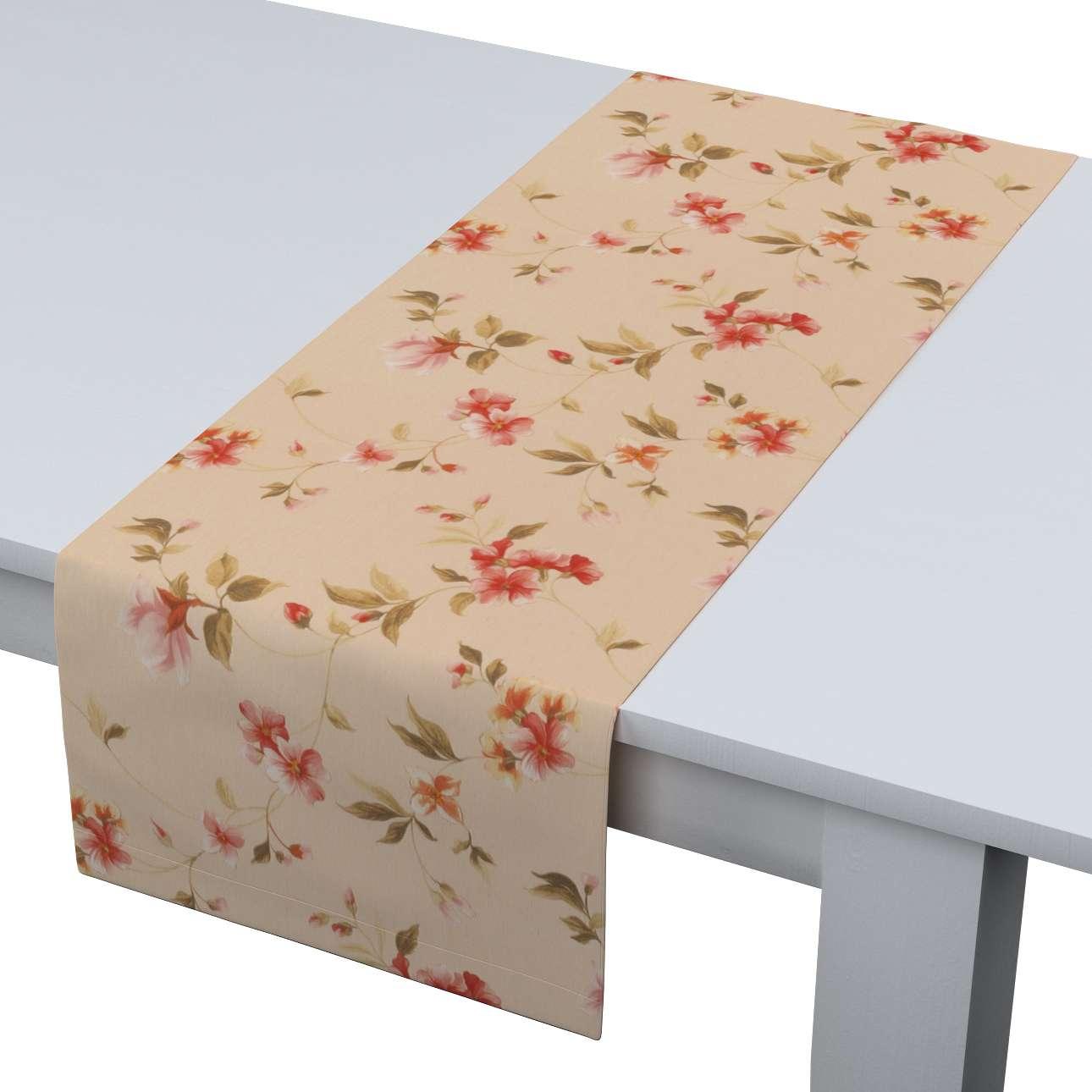 Rechteckiger Tischläufer 40 x 130 cm von der Kollektion Londres, Stoff: 124-05