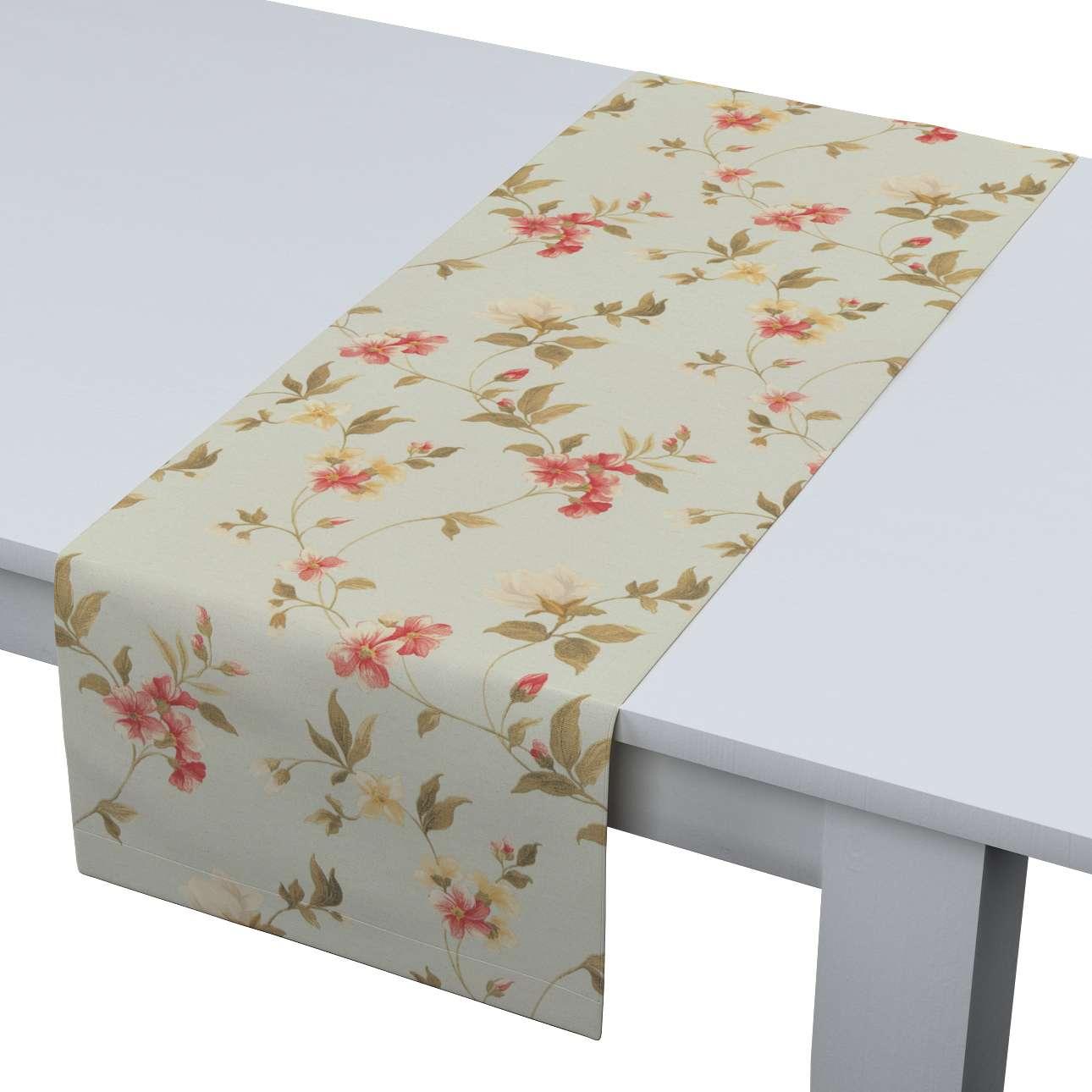 Rechteckiger Tischläufer 40 x 130 cm von der Kollektion Londres, Stoff: 124-65
