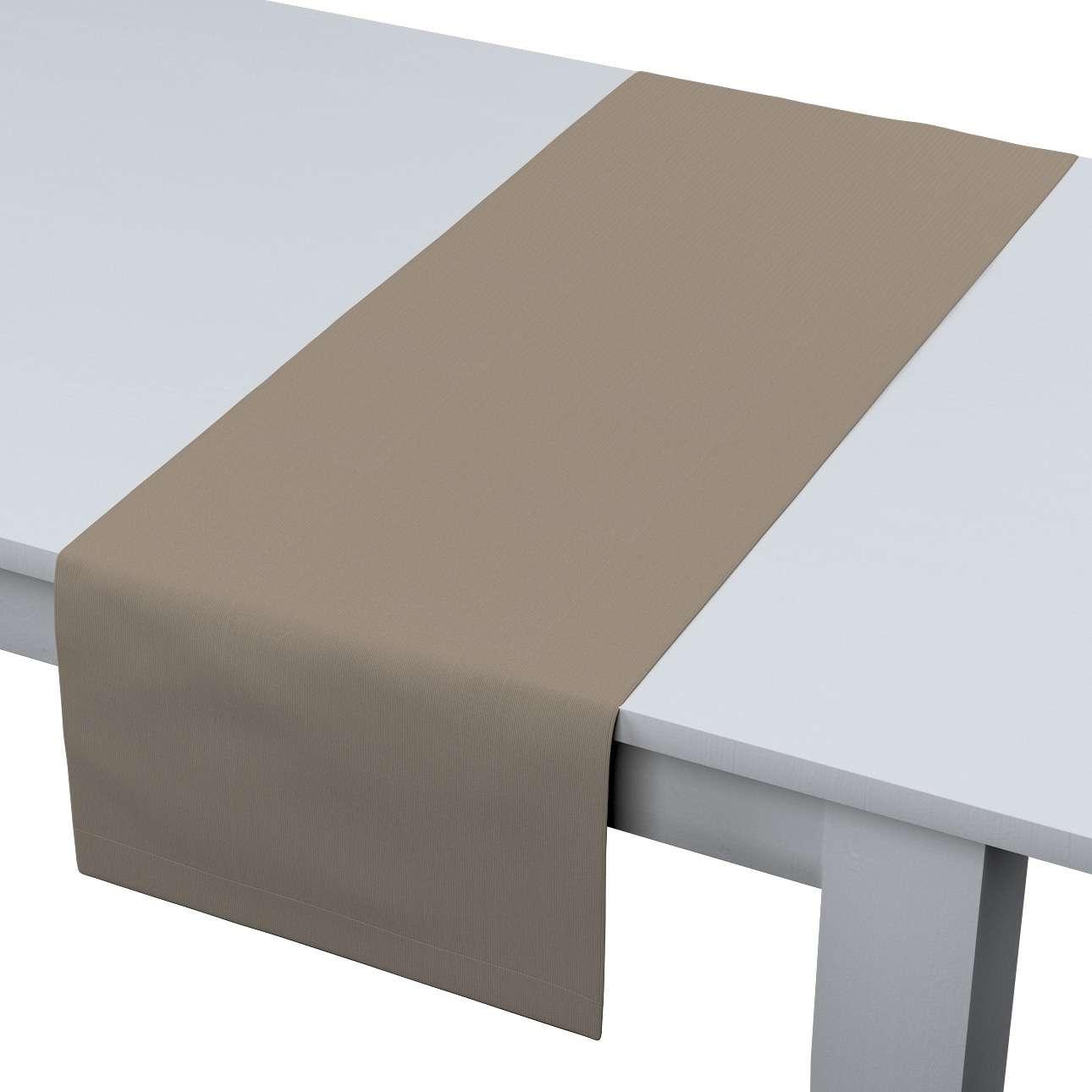 Rechteckiger Tischläufer 40 x 130 cm von der Kollektion Cotton Panama, Stoff: 702-28