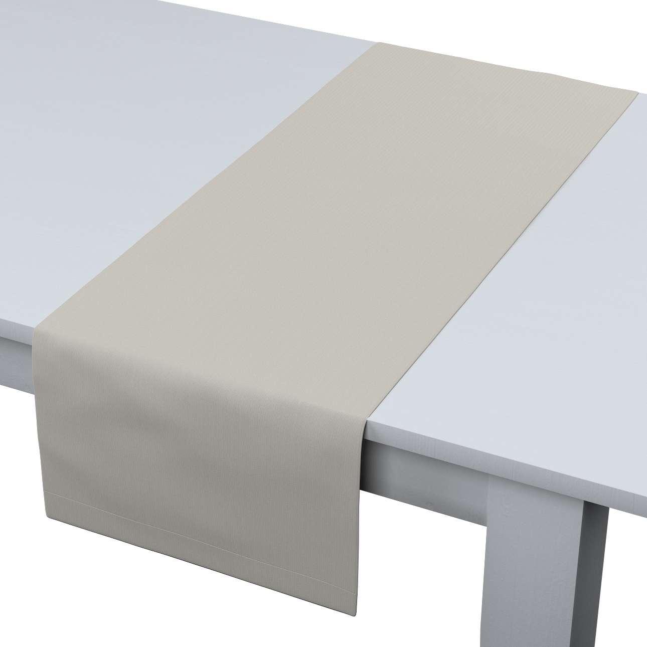Rechteckiger Tischläufer 40 x 130 cm von der Kollektion Cotton Panama, Stoff: 702-31