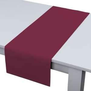 Rechteckiger Tischläufer 40 x 130 cm von der Kollektion Cotton Panama, Stoff: 702-32