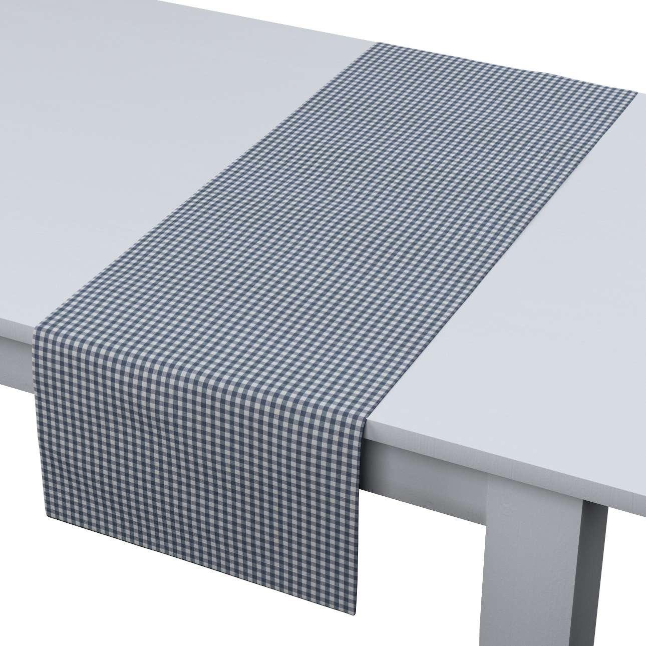 Rechthoekige tafelloper van de collectie Quadro, Stof: 136-00