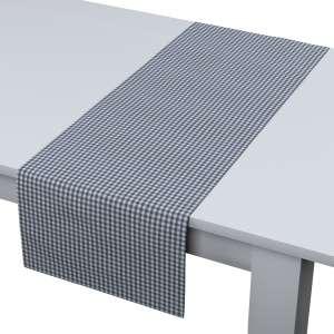 Rechteckiger Tischläufer 40 x 130 cm von der Kollektion Quadro, Stoff: 136-00