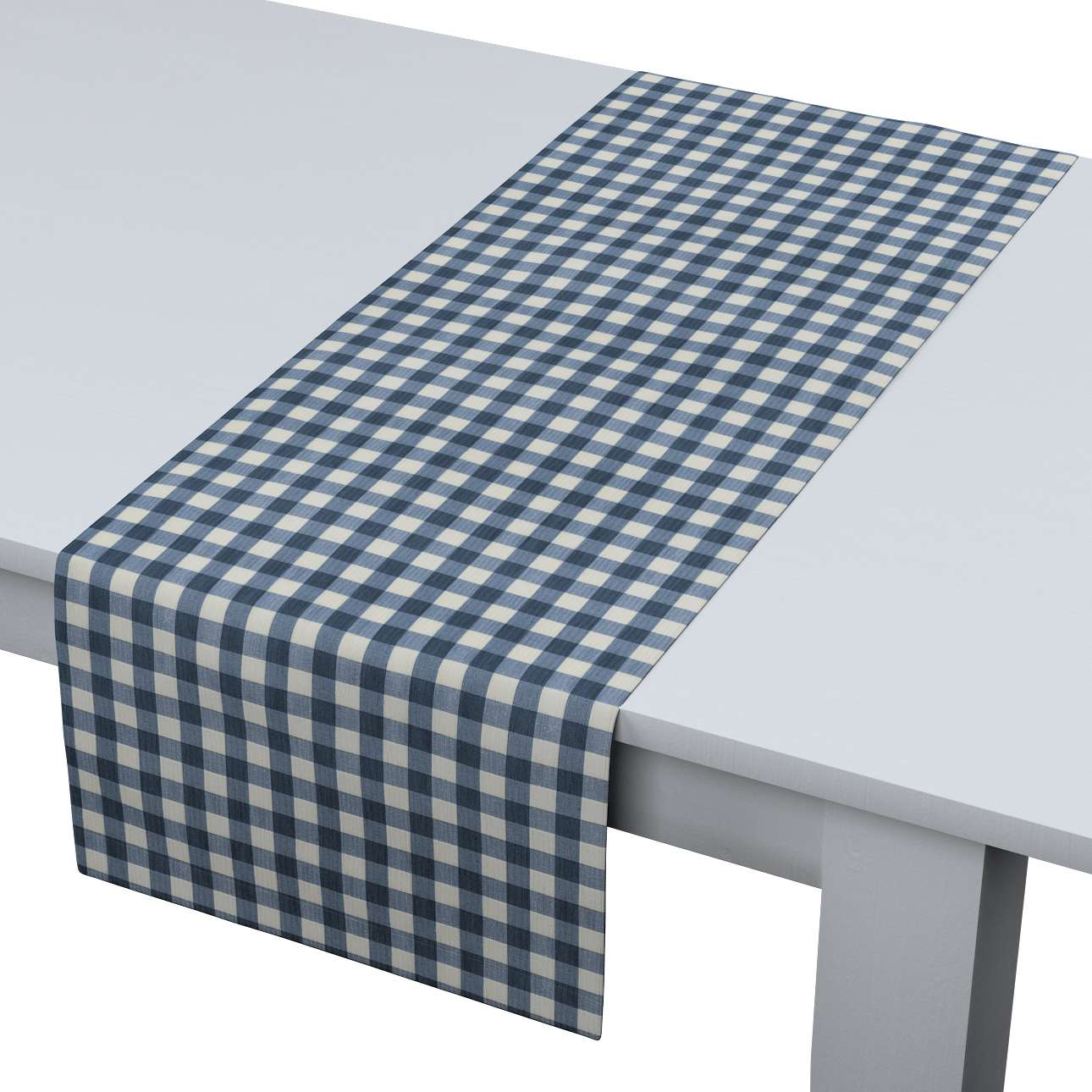 Table runner in collection Quadro, fabric: 136-01