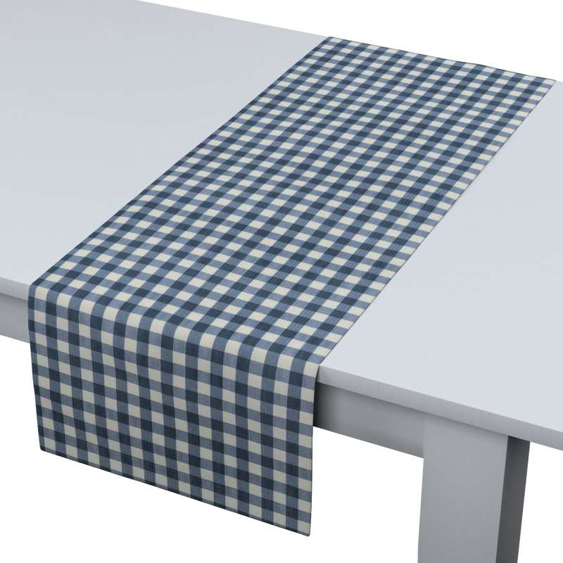 Bieżnik prostokątny w kolekcji Quadro, tkanina: 136-01