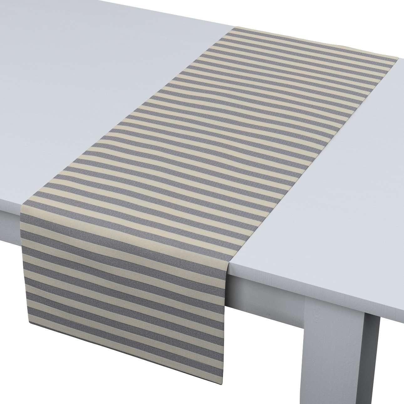 Rechteckiger Tischläufer von der Kollektion Quadro, Stoff: 136-02