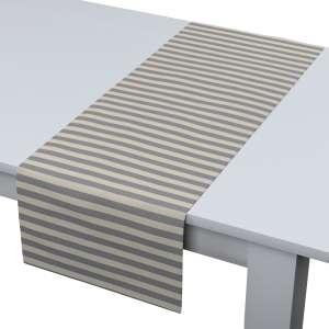 Rechteckiger Tischläufer 40 x 130 cm von der Kollektion Quadro, Stoff: 136-02