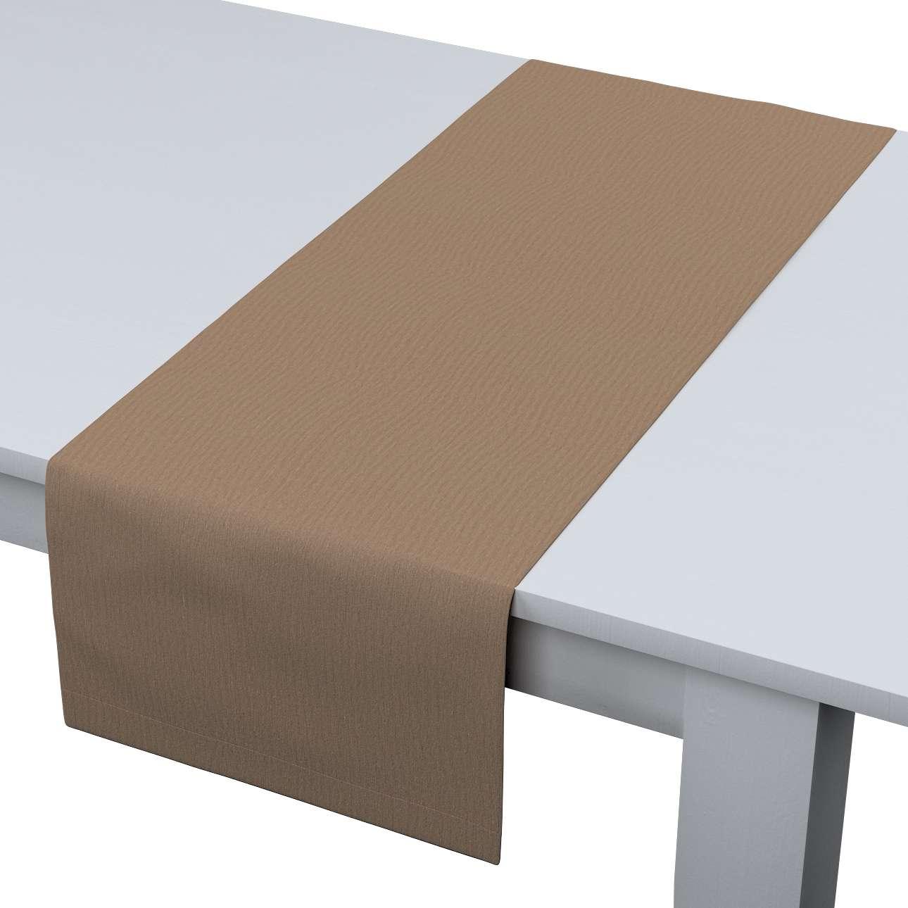 Rechteckiger Tischläufer 40 x 130 cm von der Kollektion Quadro, Stoff: 136-09