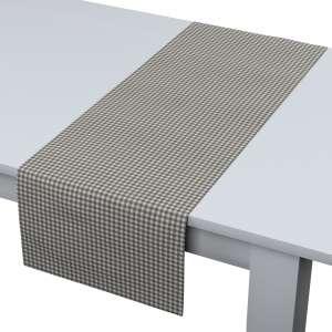 Rechteckiger Tischläufer 40 x 130 cm von der Kollektion Quadro, Stoff: 136-10