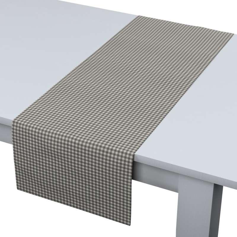 Rechteckiger Tischläufer von der Kollektion Quadro, Stoff: 136-10