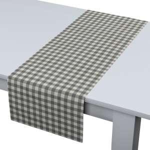 Rechteckiger Tischläufer 40 x 130 cm von der Kollektion Quadro, Stoff: 136-11