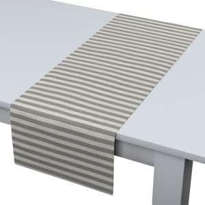 Rechteckiger Tischläufer 40 x 130 cm von der Kollektion Quadro, Stoff: 136-12