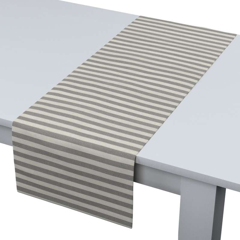 Rechteckiger Tischläufer von der Kollektion Quadro, Stoff: 136-12