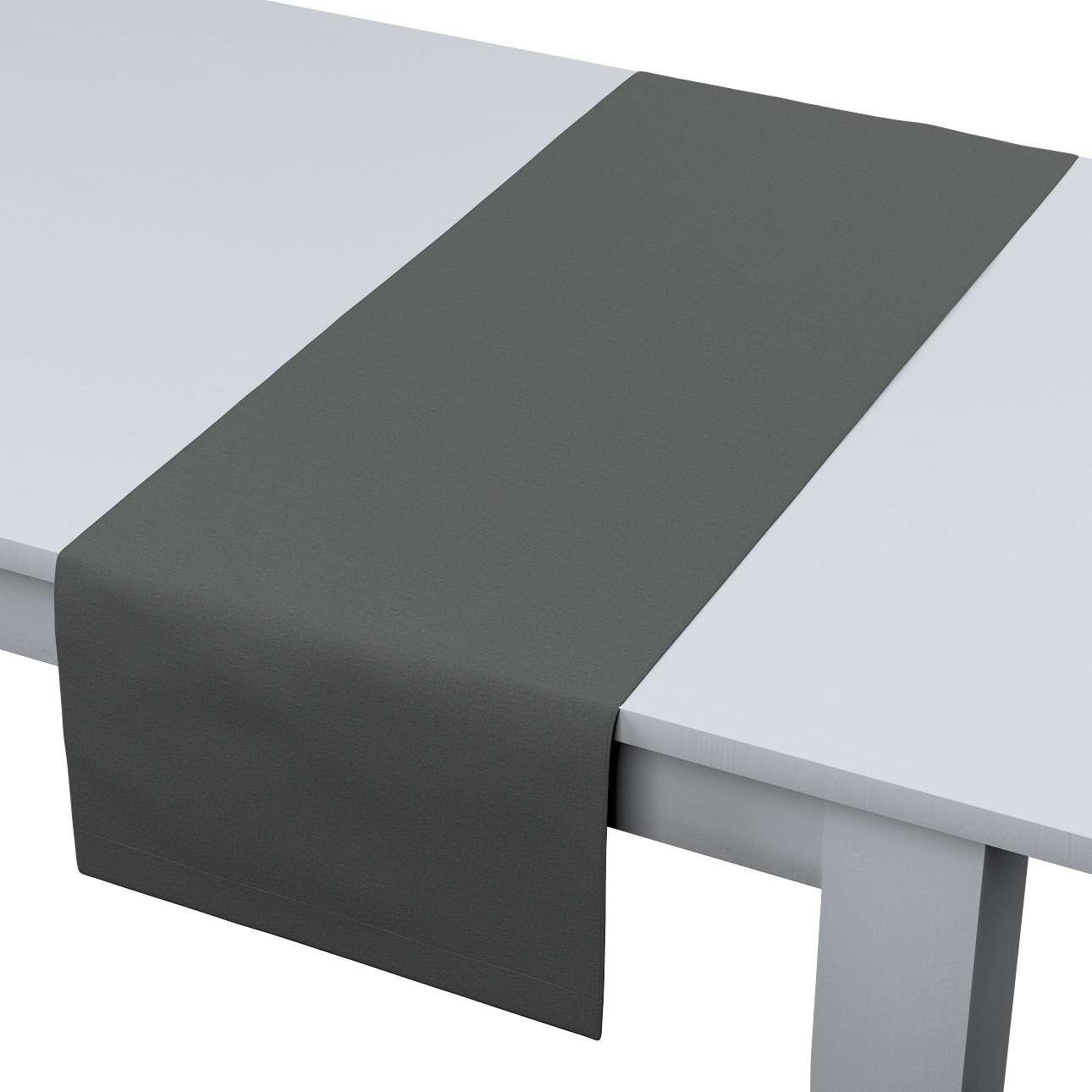 Rechteckiger Tischläufer 40 x 130 cm von der Kollektion Quadro, Stoff: 136-14
