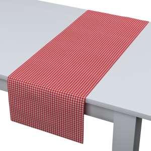 Rechteckiger Tischläufer 40 x 130 cm von der Kollektion Quadro, Stoff: 136-15