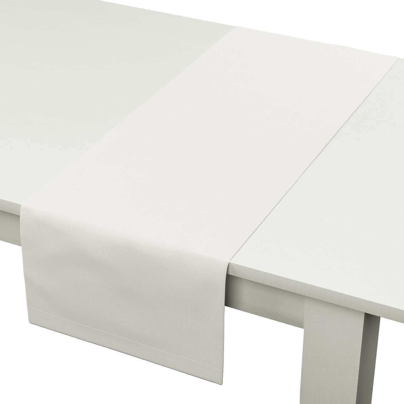 Rechteckiger Tischläufer 40 x 130 cm von der Kollektion Cotton Panama, Stoff: 702-34