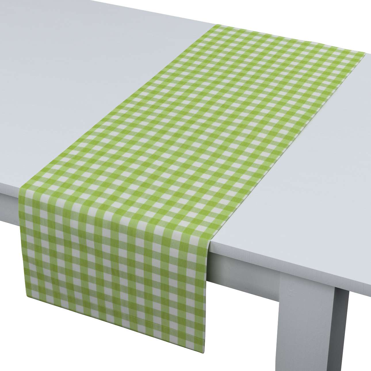 Table runner 40 x 130 cm (16 x 51 inch) in collection Quadro, fabric: 136-34