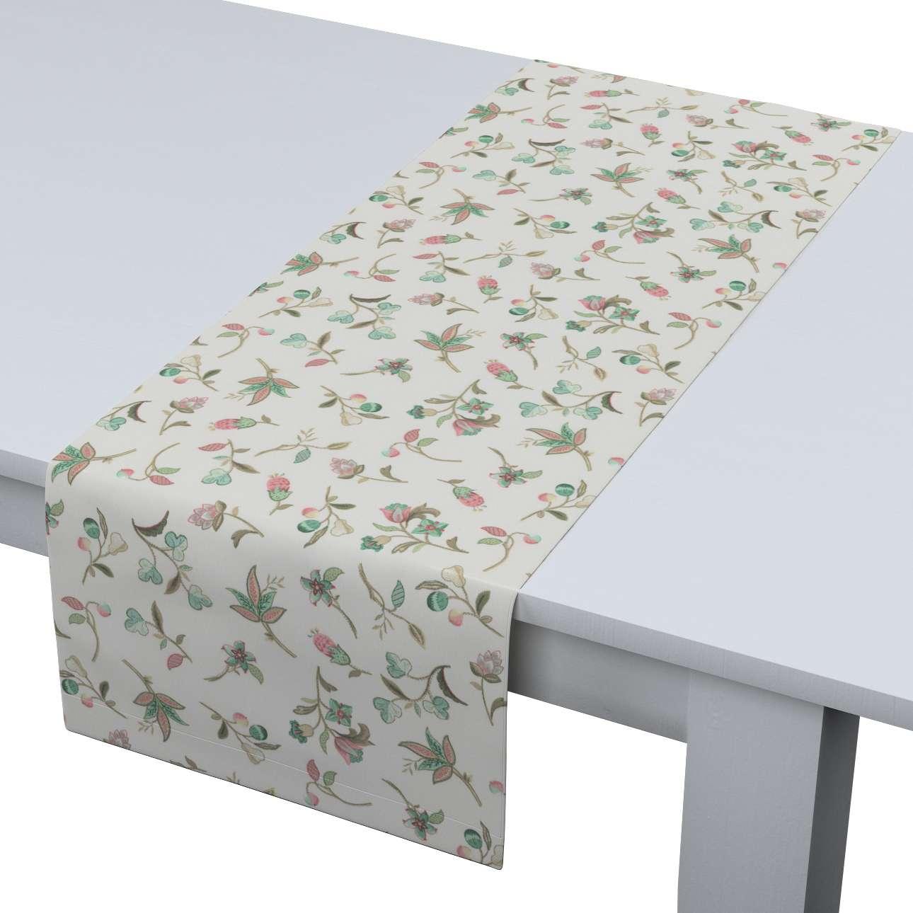Rechteckiger Tischläufer 40 x 130 cm von der Kollektion Londres, Stoff: 122-02