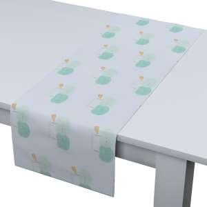 Rechteckiger Tischläufer 40 x 130 cm von der Kollektion Apanona, Stoff: 151-02