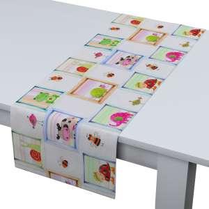 Rechteckiger Tischläufer 40 x 130 cm von der Kollektion Apanona, Stoff: 151-04