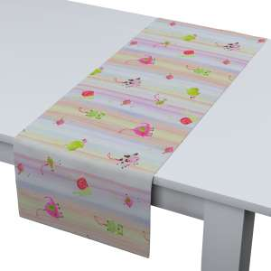 Rechteckiger Tischläufer 40 x 130 cm von der Kollektion Apanona, Stoff: 151-05