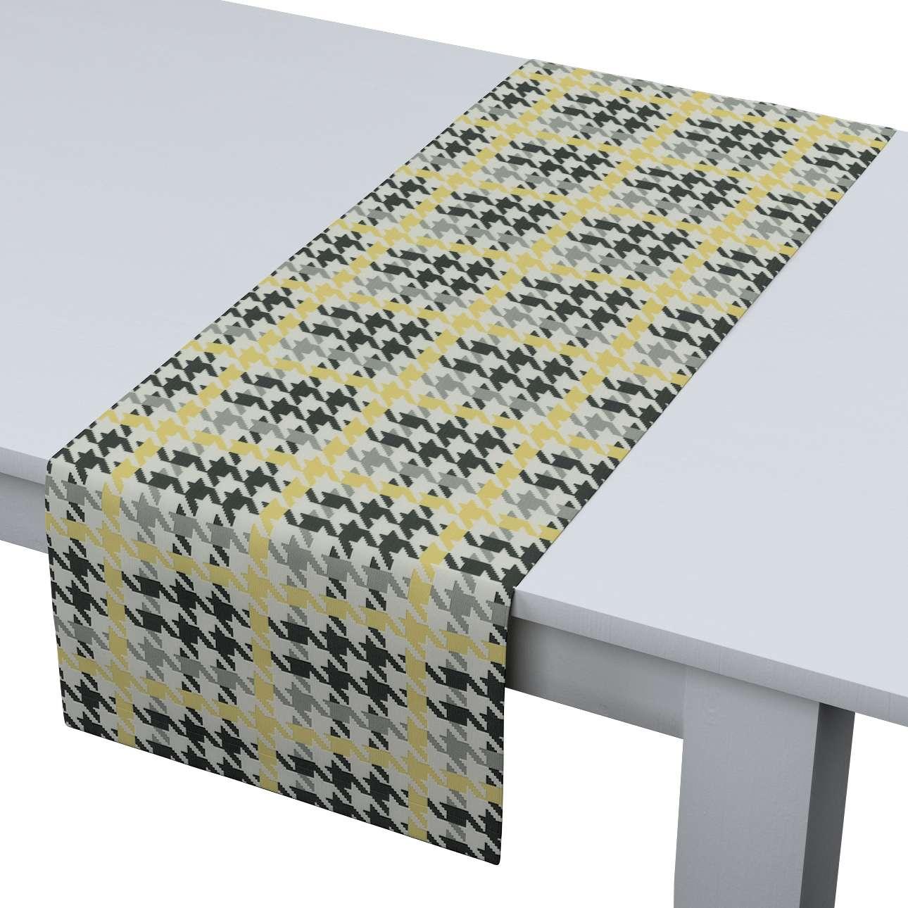 Rechteckiger Tischläufer 40 x 130 cm von der Kollektion Brooklyn, Stoff: 137-79