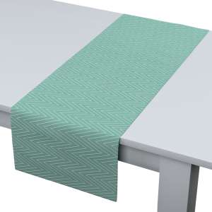 Rechteckiger Tischläufer 40 x 130 cm von der Kollektion Brooklyn, Stoff: 137-90