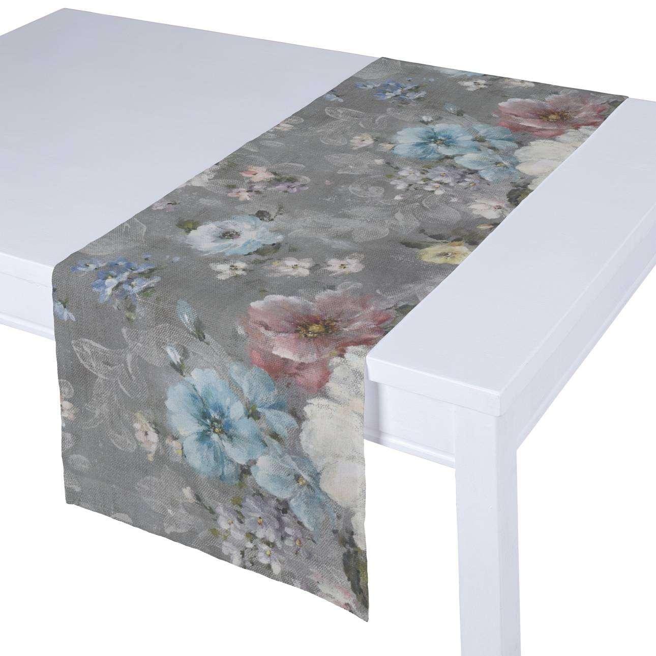 Rechteckiger Tischläufer von der Kollektion Monet, Stoff: 137-81
