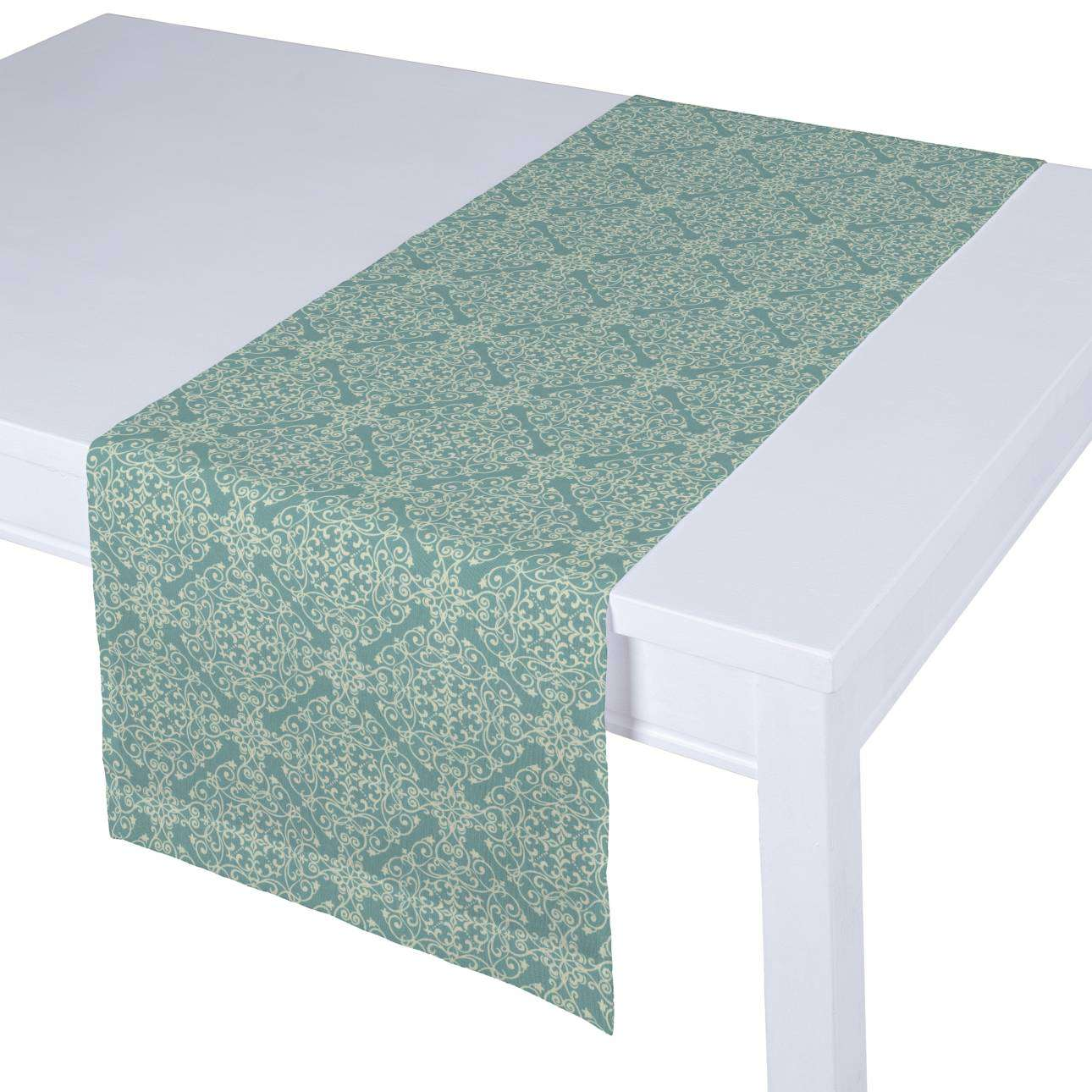Table runner 40 x 130 cm (16 x 51 inch) in collection Flowers, fabric: 140-37