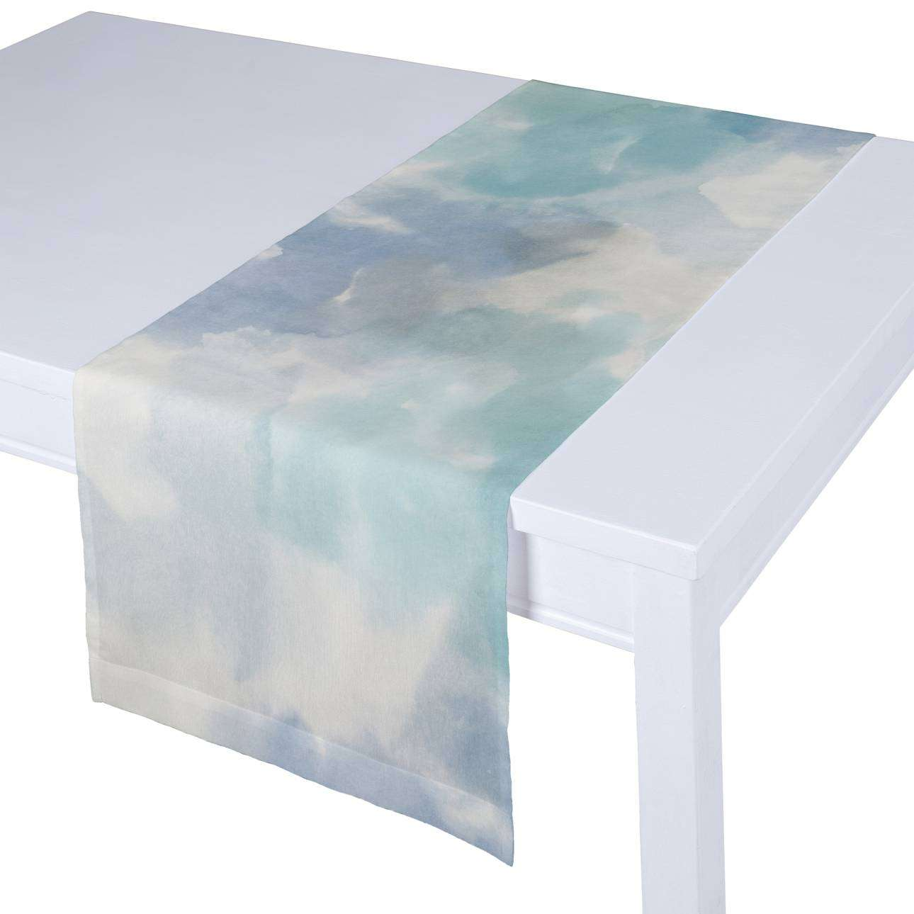 Table runner in collection Aquarelle, fabric: 140-67