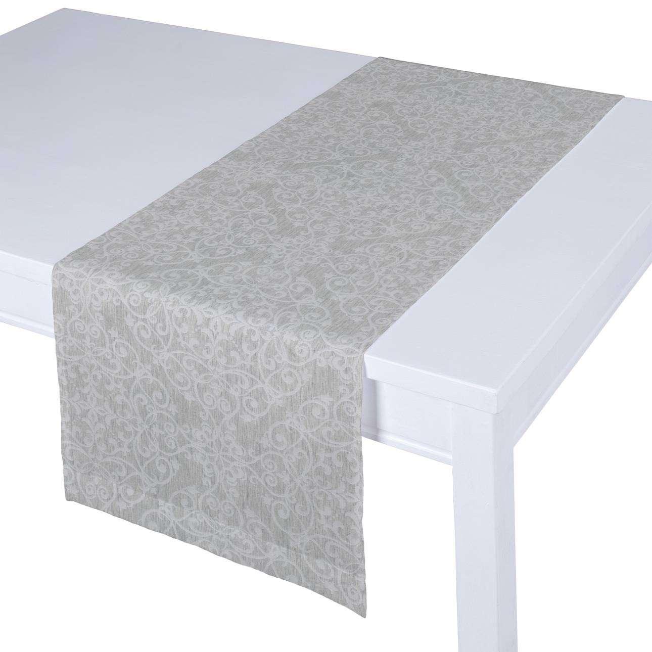 Rechteckiger Tischläufer 40 x 130 cm von der Kollektion Venice, Stoff: 140-49