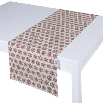 Table runner 40 x 130 cm (16 x 51 inch) in collection Christmas, fabric: 630-22