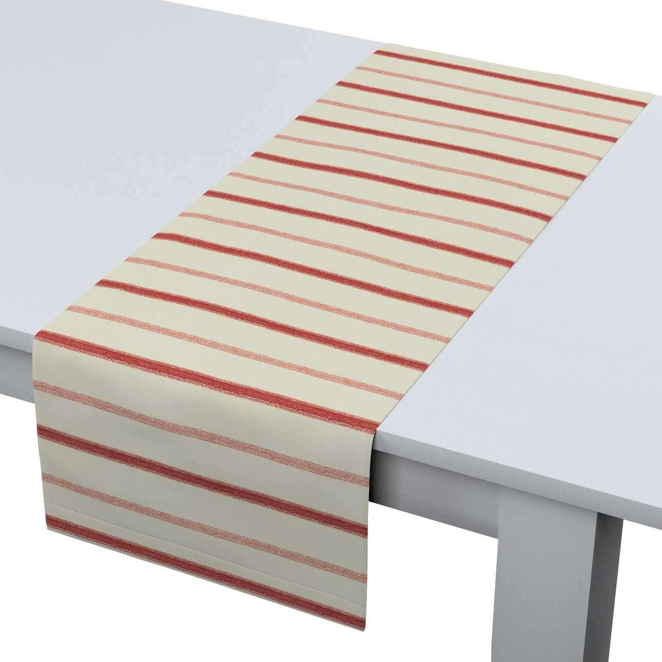 Rechteckiger Tischläufer 40 x 130 cm von der Kollektion Avinon, Stoff: 129-15